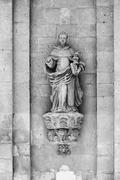 Italy, Sicily, Scicli, the Madonna Del Carmine church baroque facade Stock Photos