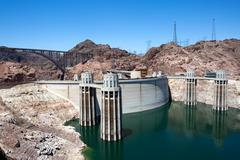 Hoover Dam Hydroelectric Power Stock Photos