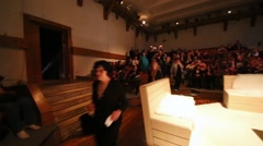 Auditorium and stage of Sphere Moscow Drama theater Arkistovideo