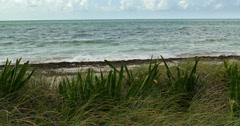 Bahia Honda Key Beach Two Stock Footage
