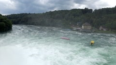 Rhine Falls Switzerland Stock Footage