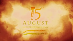 Independence Day India Stock Footage