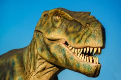 Tyrannosaurus in Novi Sad Dino Park Stock Photos