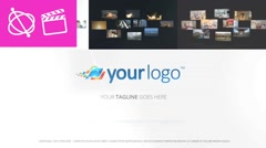 Multi Media Logo Reveal - Apple Motion and Final Cut Pro X Template - stock after effects