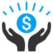 Prosperity Flat Vector Icon Stock Illustration