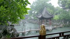 Humble Administrator's Garden in Suzhou Stock Footage
