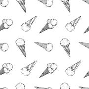 Ice cream Stock Illustration