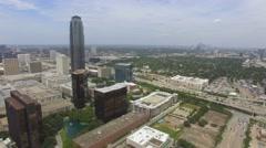 Galleria Mall area in Houston, Texas Stock Footage