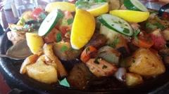 Kavarma - Bulgarian Traditional Dish Stock Footage