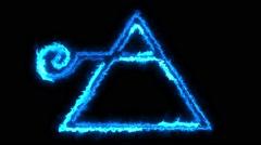 Alchemy Symbol #1 Stock Footage