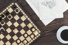 A match without checkmate - stock photo
