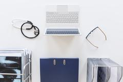 Organized doctor's office - stock photo