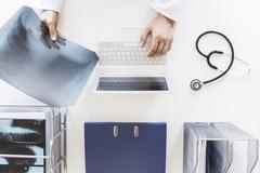 Diseases and diagnosis - stock photo