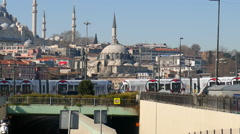 Traffic in Istanbul Stock Footage