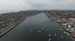 Sheepshead Bay, Brooklyn NY Stock Footage