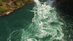 Niagara Falls Whirlpool Stock Footage