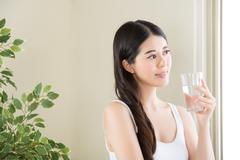 Nearly a billion people a year die from unsafe drinking water Stock Photos
