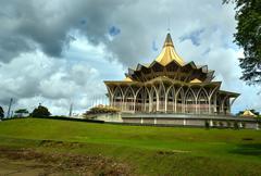Sarawak State Legislative Assemblyi Kuching Stock Photos