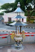 Tua Pek Kong Chinese Temple in Kuching Stock Photos