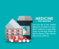 Medicine medical health care icon Stock Illustration