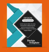 Design template website decoration layout icon Stock Illustration