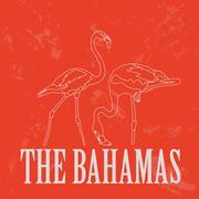 The Bahamas landmarks. Retro styled image Stock Illustration