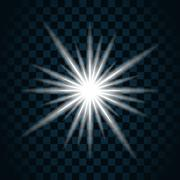 Sparkle light star 11 Stock Illustration