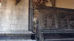 """""""Loggia della Mercanzia"""" in Siena, ULTRA HD 4k, real time Stock Footage"""