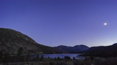 The beautiful June Lake Stock Footage