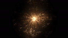 Huge star explosion Stock Footage