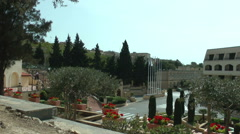 Panoramic view of Excelsior hotel in La Valletta, Malte Stock Footage