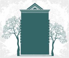 Property - real estate logo Stock Illustration