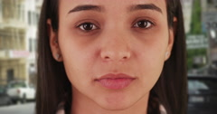 Potrait of Mexican woman Stock Footage