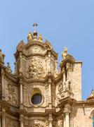 Metropolitan Cathedral–Basilica of the Assumption of Our Lady of Valencia Stock Photos