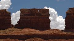 Canyonlands Moab Utah Colorado Plateau Time Lapse Long Shot Stock Footage