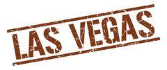 Las Vegas brown square stamp Piirros
