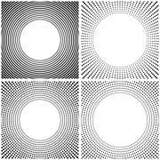 Abstract frame, vector illustration. Stock Illustration