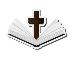 Holy bible icon Stock Illustration