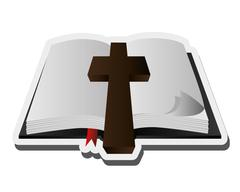 Holy bible icon Stock Illustration