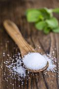 Stevia Granules (selective focus) Stock Photos