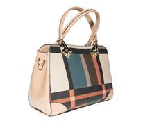 Emale handbag on a white background Stock Photos