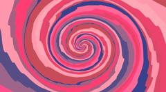 Psycho pattern seamless loop Stock Footage