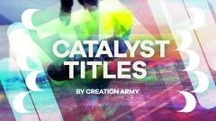 Catalyst Titles Stock After Effects