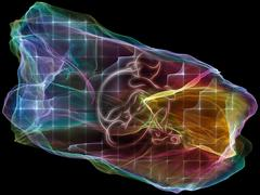 Paradigm of Mind Particle Stock Illustration