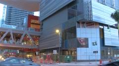 Buildings at Brickell City Cetner Stock Footage