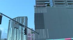 Brickell City scene 4k Stock Footage