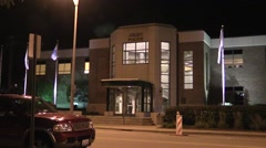 Joliet Police Station Stock Footage