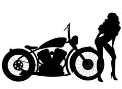 Motorcycle Stock Illustration