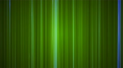 Broadcast Vertical Hi-Tech Lines, Green, Abstract, Loopable, 4K Stock Footage