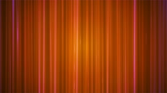 Broadcast Vertical Hi-Tech Lines, Orange, Abstract, Loopable, 4K Stock Footage